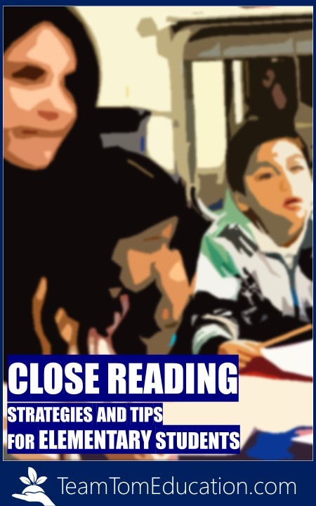 Close Reading Teaching Tips and Strategies for Elementary Students!