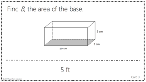 Quickly engage students with this Area and Perimeter task card game.