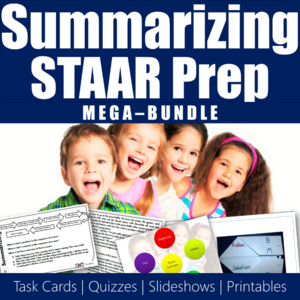 Main Idea Teaching Resources for STAAR Prep
