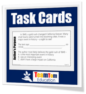 Join TeamTom Testers to get free teaching resources each month!