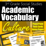 Academic Vocabulary for Social Studies