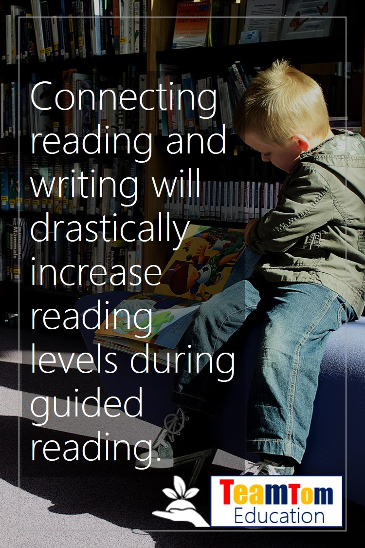 Connecting reading and writing is a powerful learning strategy to use in guided reading lessons.