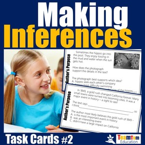 Reading test prep and STAAR review are made easy with these aligned task cards!