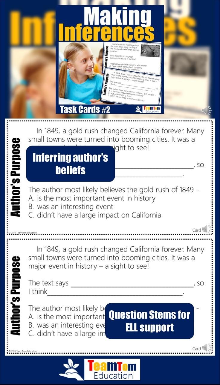 Reading Test Prep: Making Inferences - TeamTom Education