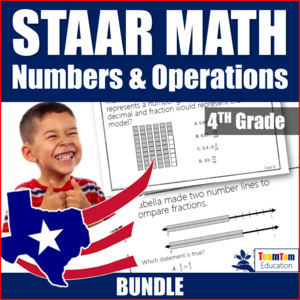 STAAR Review is easy with these math task cards!