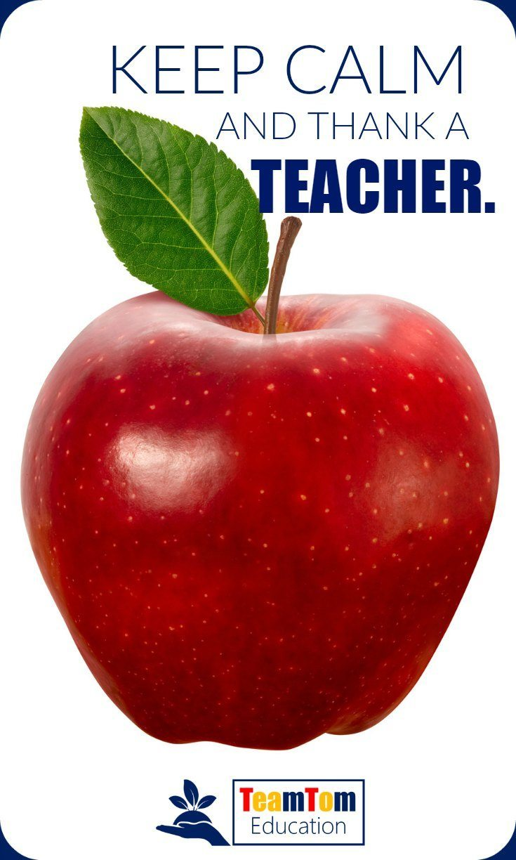Teacher appreciation week is the perfect time to keep calm and thank a teacher!