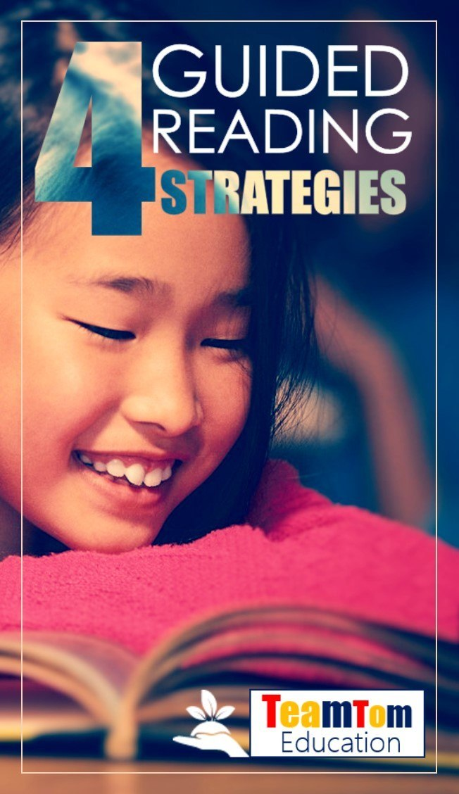 These four guided reading strategies will increase your teaching impact.