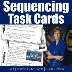 Teaching with Reading Task Cards for Sequencing