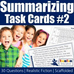 Task Cards that align with TEKS and Reading STAAR!