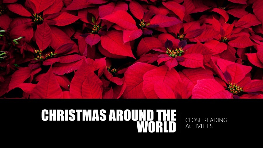 Close Reading with this High-Interest Christmas Around the World