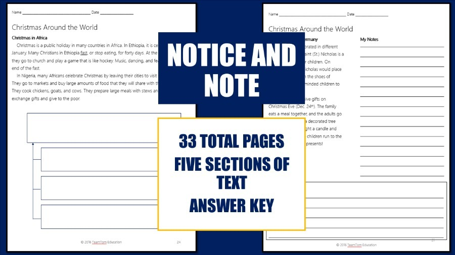 Close Reading Notice and Note