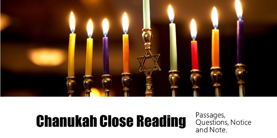 Teaching Activities for Hanukkah